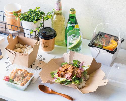 食卓を彩るテイクアウト容器カフェキュートボックス
